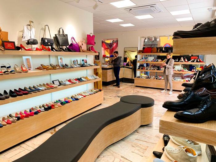 Tienda de zapatos Toñi Mediavilla