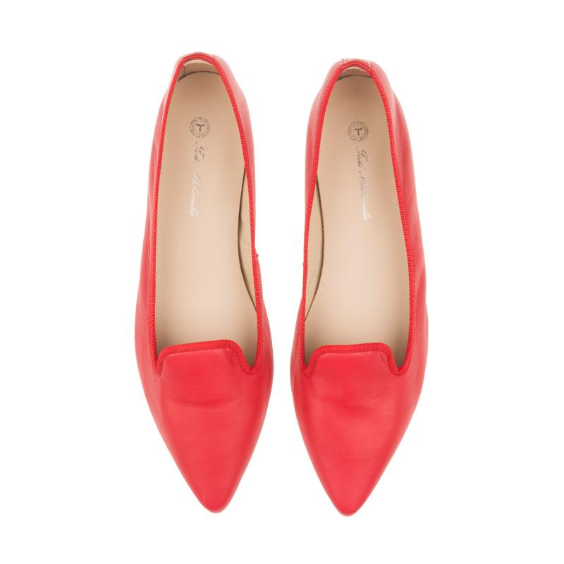 Bailarinas clásicas rojas | Toñi Mediavilla