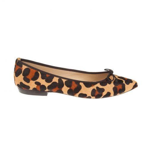 Bailarinas leopardo con ribete negro | Toñi Mediavilla