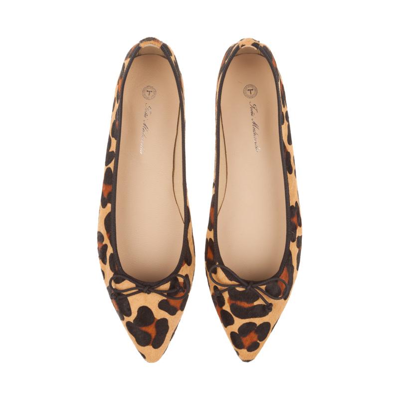 Bailarinas leopardo con lazo negro | Toñi Mediavilla