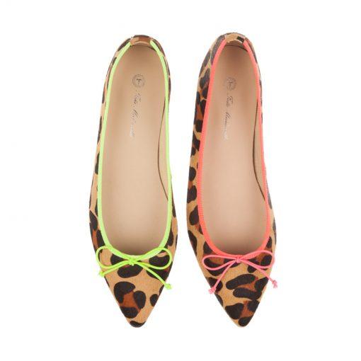 Bailarinas leopardo fluor | Toñi Mediavilla