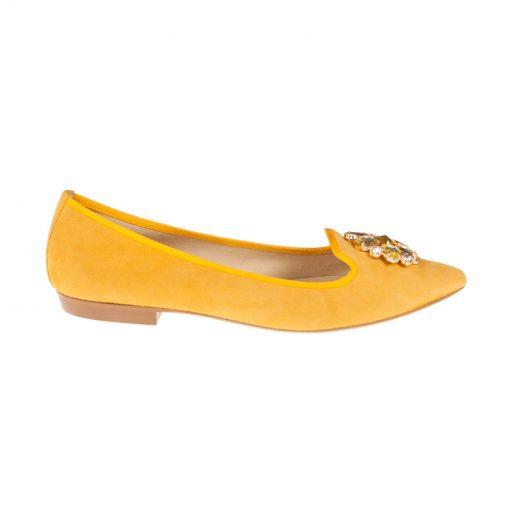 Bailarinas de piel amarillas | Toñi Mediavilla