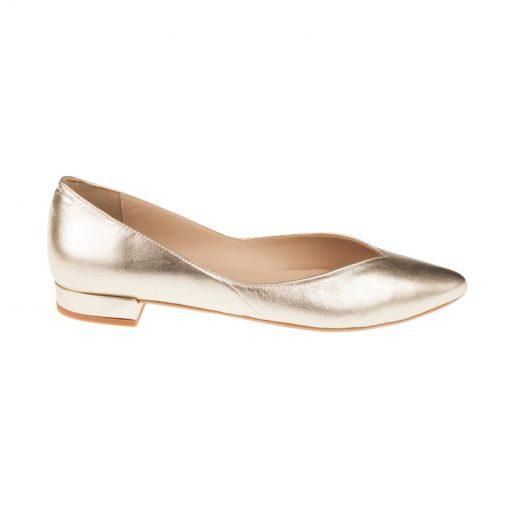 Bailarinas de mujer doradas | Toñi Mediavilla