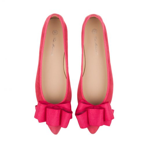 Bailarinas color rosa fucsia | Toñi Mediavilla
