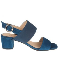 Sandalias de tiras color azul | Toñi Mediavilla