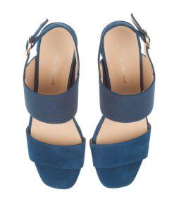 Sandalias de tiras azules | Toñi Mediavilla