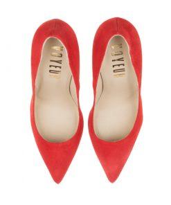 Stilettos tacón alto rojos | Toñi Mediavilla