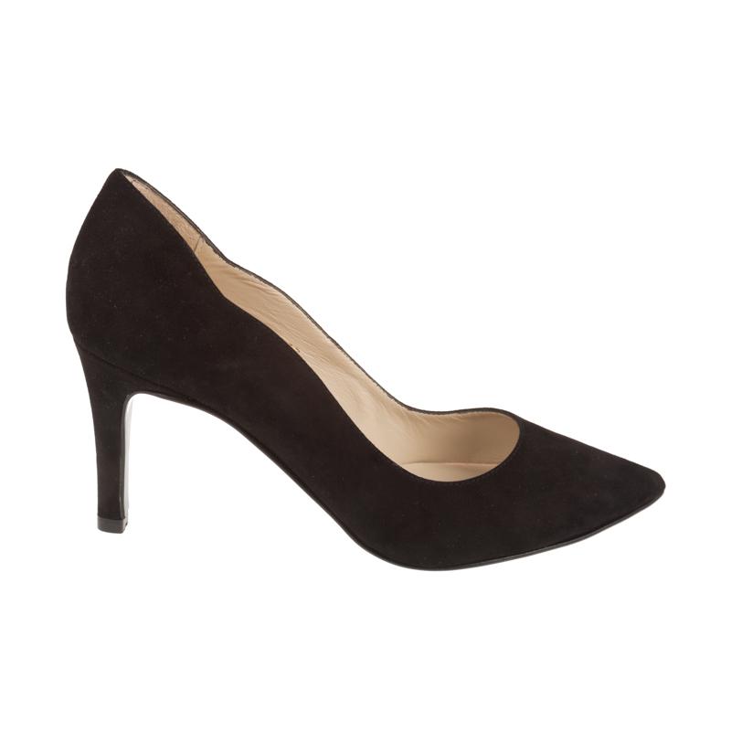 Stilettos de ante negro | Toñi Mediavilla