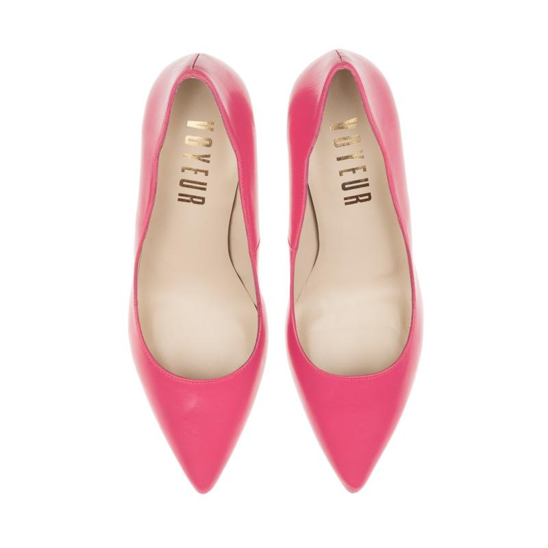 Stilettos de piel rosa | Toñi Mediavilla