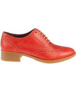 Zapato plano mujer rojo | Toñi Mediavilla