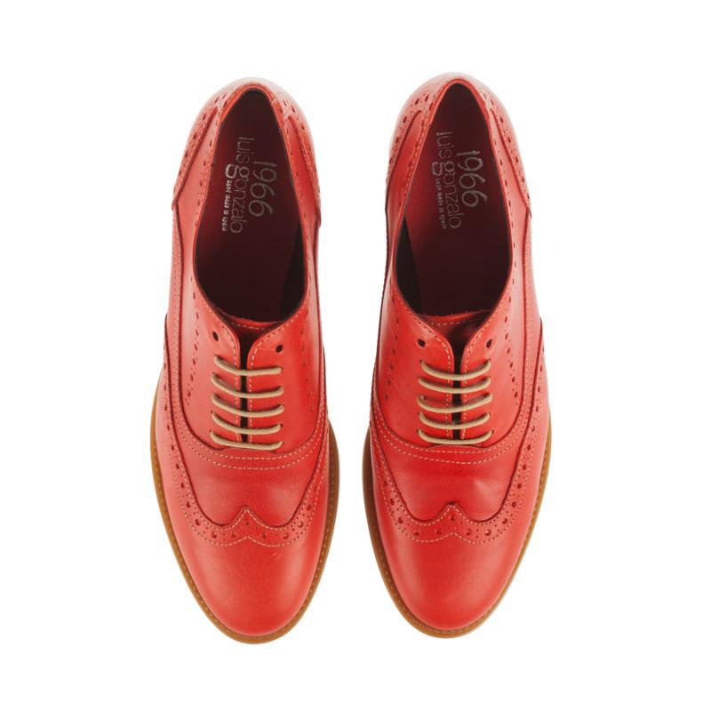 Zapatos planos mujer color rojo | Toñi Mediavilla