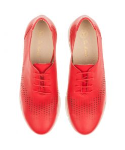 Zapatos planos rojos | Toñi Mediavilla