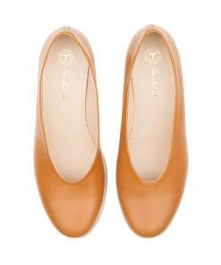 Zapatos planos camel | Toñi Mediavilla