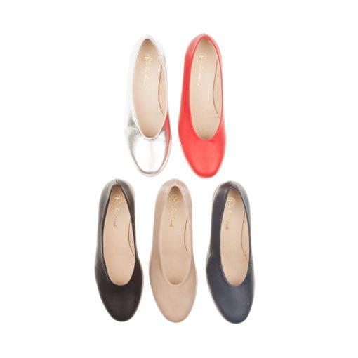 Zapatos planos escote redondo | Toñi Mediavilla