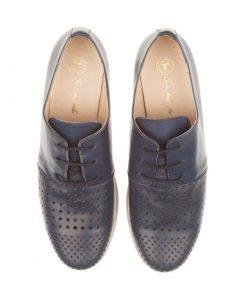 Zapatos planos azules | Toñi Mediavilla