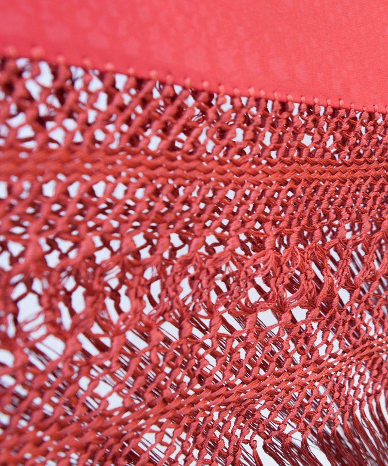 Manton de manila 524 coral I