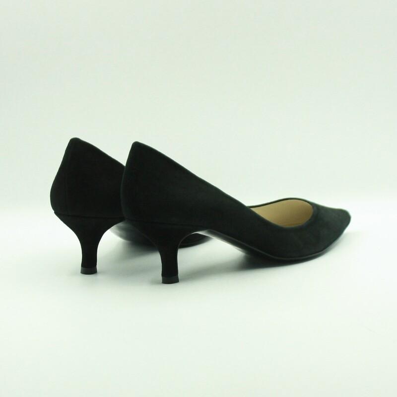 Stilettos de piel de ante negro | Toñi Mediavilla II